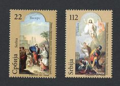 #538-539 Serbia - 2011 Easter (MNH)
