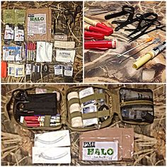 Military Ifak(individual first aid kit) Medical supplies