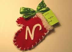 memory mitten ornaments tutorial