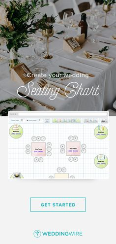 Sign up to keep your seating chart stress to a minimum! Plus, you'll also gain access other essential planning tools :)