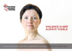 Violence is not always visible