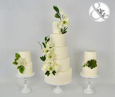 Entre pájaros y magnolias - Cake by Arte y Sabor