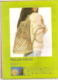 xteen handmade: Colecao Arte facil Bolsas macrame