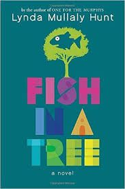 What I'm reading from the stacks of my school library.: FISH IN A TREE