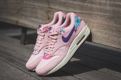 Nike - WMNS Air Max 1 Print (pink) - 528898-601