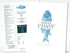 White Coast - Mediterranean Seafood by PAPERVIEW design , via Behance