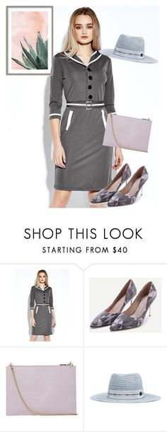 """""""dress"""" by masayuki4499 ❤ liked on Polyvore featuring WithChic, Whistles, Maison Margiela and Art Addiction"""