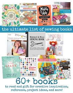 the ultimate list of sewing books    imagine gnats