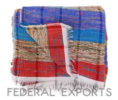 Hand Loom Chindi Carpet Rag Rug Floor Mat Yoga Mat Vintage Throw Coverlet 16 #HANDMADE