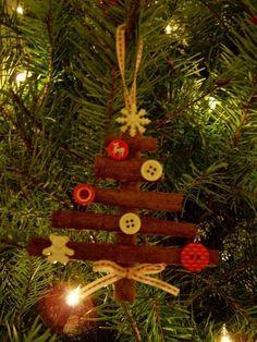 madebyjoey: homemade christmas tree a funny photos Homemade Christmas Tree, Stick Christmas Tree, Christmas Love, Christmas Angels, Rustic Christmas, Christmas Holidays, Christmas Ideas, Christmas Cards, Christmas Activities