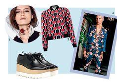 1. Dior 2. Stella McCartney 3. Reinaldo Lourenço 4. For Restless Sleepers (Foto: Fred Othero/Arquivo Vogue, Imaxtree e Divulgação)