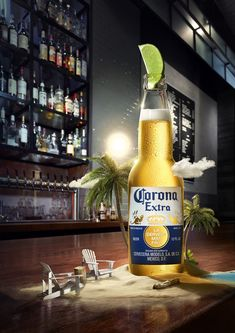 Clever Advertising, Advertising Design, Advertising Campaign, Corona Beer, Branding, Beer Advertisement, Beer Poster, Ad Art, Great Ads