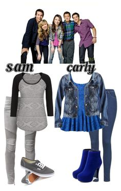 """""""iCarly girls outfit"""" by pandalover456 ❤ liked on Polyvore"""