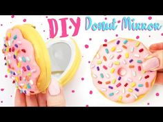 ☆ DIY DONUT Mirror! ☆ - Cute and Easy Craft! - YouTube