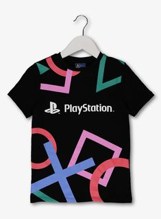 Shop for boys t-shirts and boys tops at Tu Clothing. Sainsbury's Tu clothing can be found in selected Sainsbury's stores across the UK. Funny Outfits, Kids Outfits, Boys Shirts, Cool T Shirts, Grey Long Sleeve Tops, Short Sleeves, Boys Clothes Style, Video Game T Shirts, Little Girls