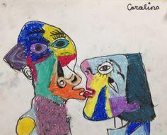 El beso de Picasso para ninos
