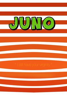 juno poster.   BUY the Blu-ray here: http://www.amazon.com/gp/product/B0014DFCMS/ref=as_li_tf_tl?ie=UTF8=tasofcin-20=as2=1789=9325=B0014DFCMS