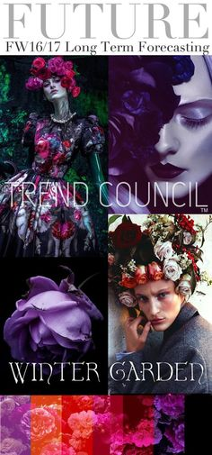 TRENDS // TREND COUNCIL - F/W 2016-17 . WINTER GARDEN