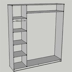 How to build and assemble built-in cupboards or wardrobes