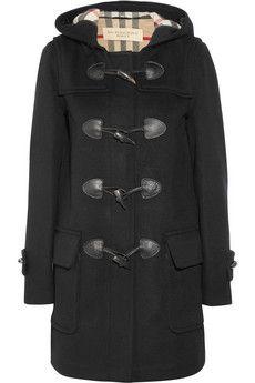 Wool-felt duffle coat by Burberry Brit