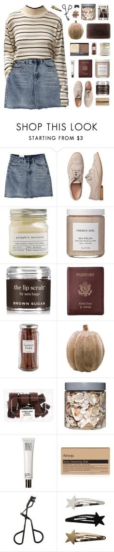 """""""「68.」""""❤ liked on Polyvore featuring Gap, Brooklyn Candle Studio, French Girl, Sara Happ, Royce Leather, Williams-Sonoma, Smith & Hawken, Threshold, Make and Aesop"""