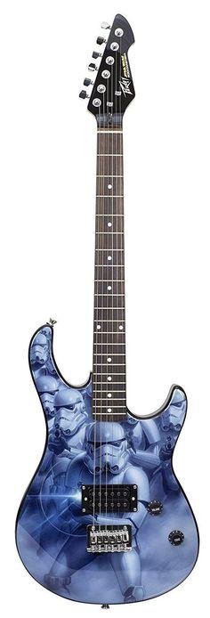Peavey 03025310 STAR WARS Storm Trooper Rockmaster Electric Guitar Pack