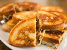 Grilled Cheese with Caramelized Onions as seen on Dinner at Tiffani's.  Love this show!!