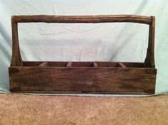 Vintage Wood Garden Planter by littleminisshoppe on Etsy, $36.00
