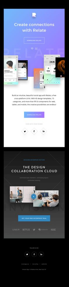 The Best Email Designs in the Universe (that came into my inbox) Email Providers, Email Service Provider, Mobiles, E-mail Design, Simple Web Design, Email Design Inspiration, Email Templates, Design Templates, Best Email