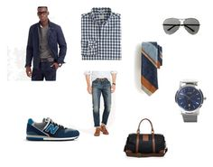 """""""Picking out boyfriends clothes"""" by mollyb283 on Polyvore featuring J.Crew, HUGO, Valentino and Polo Ralph Lauren"""