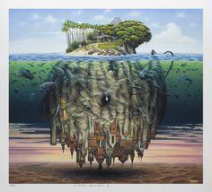 """""""Wegener's theory"""" by Jacek Yerka"""