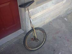 Old Unicycle