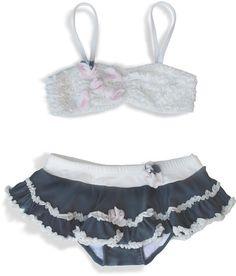 09ef1a941e ciao bella slate bikini with ruffle skirt