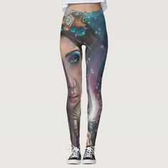 Mermaid Leggings Ace of Cups Leggings Tarot
