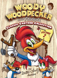 *WOODY WOODPECKER ~ TV show and comics