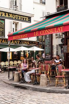 Café Culture in Paris Lives Up to the Hype - Best Image Portal Cafe Window, Sidewalk Cafe, Paradise Travel, Parisian Cafe, Paris Illustration, City Maps, Tour Eiffel, French Cafe, Foodie Travel