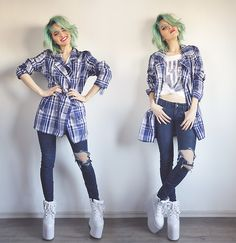 Vintageena Shop Jacket, Yru Creepers