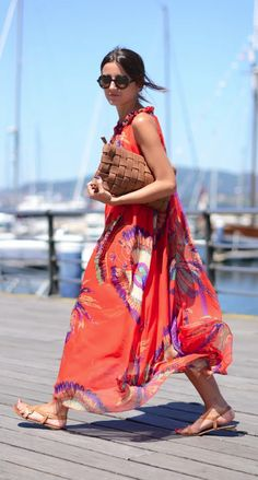Cute maxi as beach coverup