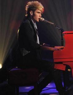 TV Fashion * Show: American Idol * Contestant: Colton Dixon * Top: Hotel * Pants: Kill City * Vest: Unconditional * Shoes: Hudson