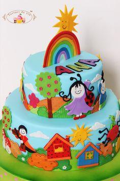 Homemade Cakes, Birthday Cake, Desserts, Kids, Food, Tailgate Desserts, Young Children, Birthday Cakes, Deserts