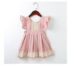 Baby girls crochet summer dress