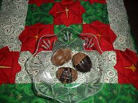 Sabines und Anjas Hobbyeck: Jürgens Lieblingskekse Tree Skirts, Christmas Tree, Holiday Decor, Home Decor, Hobbies, Biscuits, Weihnachten, Kids, Teal Christmas Tree