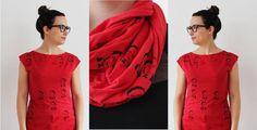 Pierre Trudeau printed tees and scarves