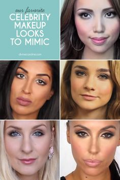 Who needs a makeup artist when you've got blogger tutorials? From subtle similarities to full-on transformations, give these celebrity makeup looks a try.