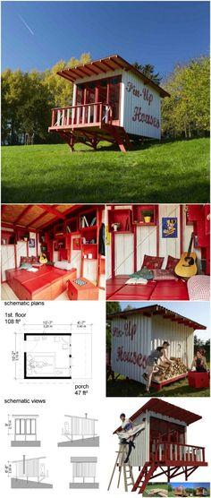 Cheryl tiny cabin plans