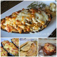 Sabemos que os gustan mucho las recetas con berenjenas, así que estas 4 recetas con esta hortaliza que ha recogido la autora del blog FÁCIL CON BELA, seguro que las incluís en vuestro recetario.