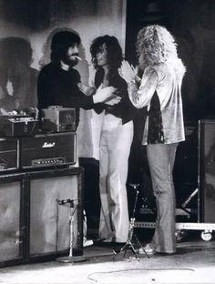 John Bonham/Jimmy Page/Robert Plant John Bonham, John Paul Jones, Jimmy Page, Great Bands, Cool Bands, Hard Rock, Rock N Roll, Robert Plant Led Zeppelin, Whole Lotta Love