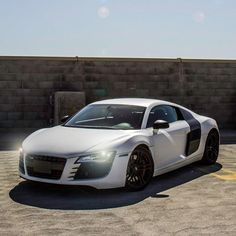 Audi R8. Before everyone loved audis because of 50 I loved them because of their safety ratings and speed capacities.