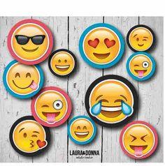 Kit imprimible / Cumpleaños infantiles / Emoji / Whatsapp emoticones / Candy bar y decoracion / Banderines / Toppers / Invitaciones / Golosinas / Fiestas temáticas / Diseño para niños / Primer año / Hazlo tu misma / Envios a todo el mundo / Printable kit / Kids birthday party / Decor / Smile / Themed party / Design for boys / DIY / We ship worldwide / lauraydonna@gmail.com / Click on image to buy / Click en la imagen para comprar