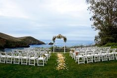 Mendocino Coast Lodging Luxury Oceanfront Wedding Lawn Albion